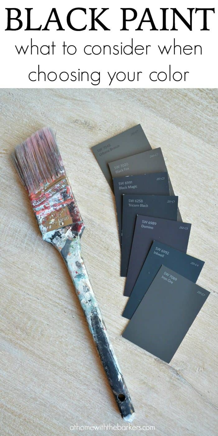 Black Paint: What to consider when choosing your color