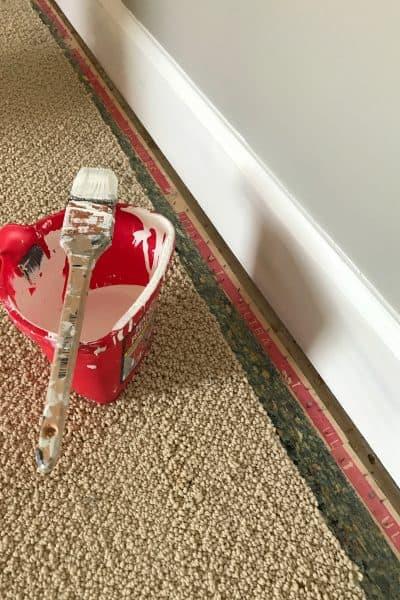 Interior Trim Paint Disaster