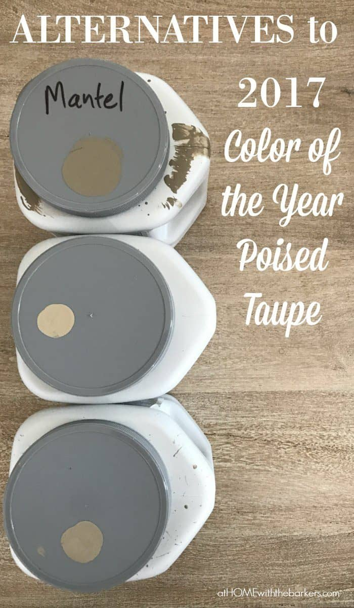 Alternatives To 2017 Color Of The Year Poised Taupe At