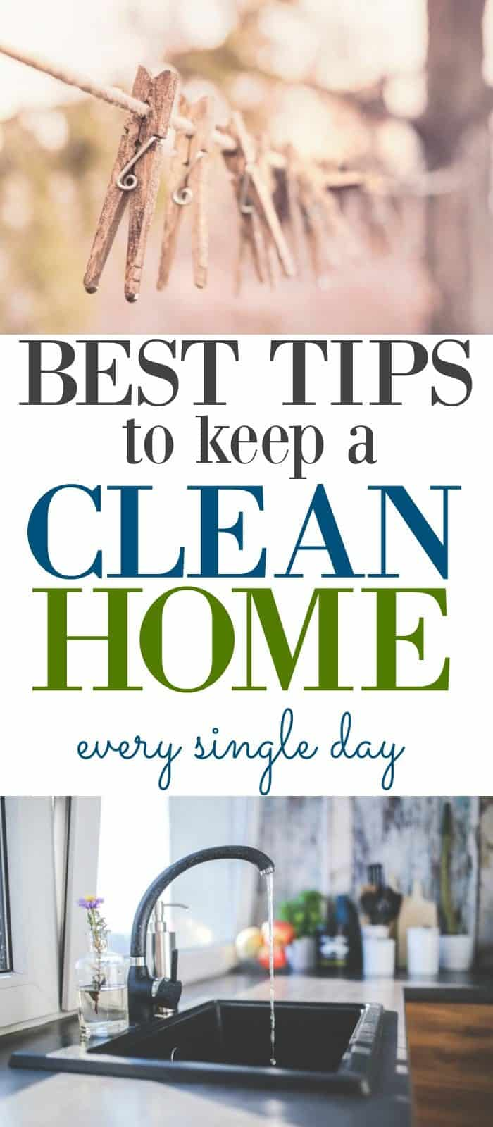 Home Cleaning Routine / Best tips for keeping a clean home while staying sane.