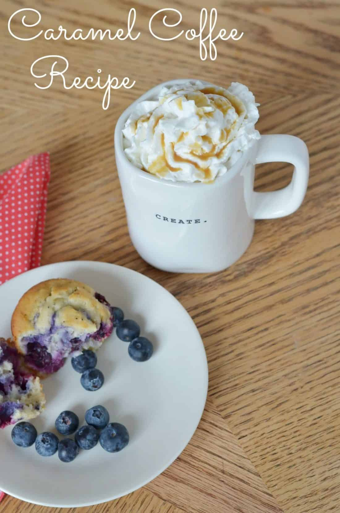 Caramel Coffee Recipe At Home With The Barkers