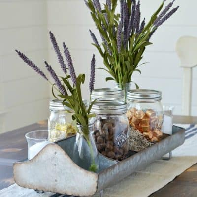 How to Style a Farmhouse Tray Perfect for Your Family