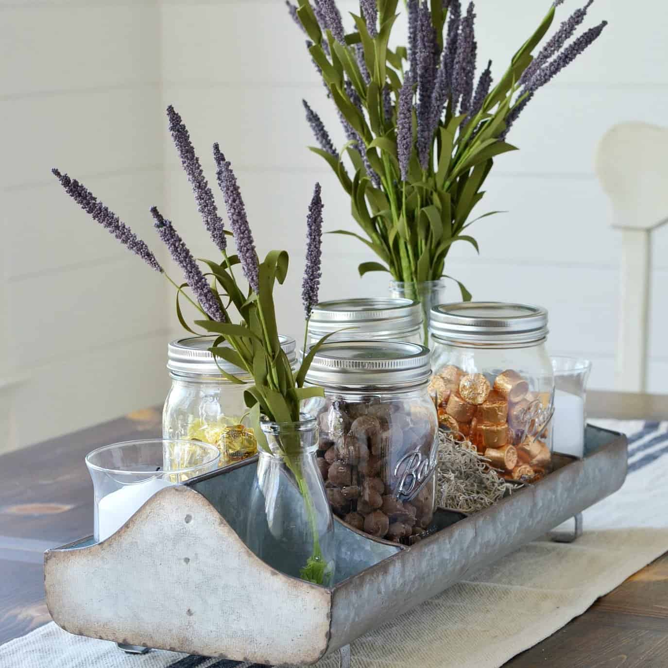 How to Style a Farmhouse Tray