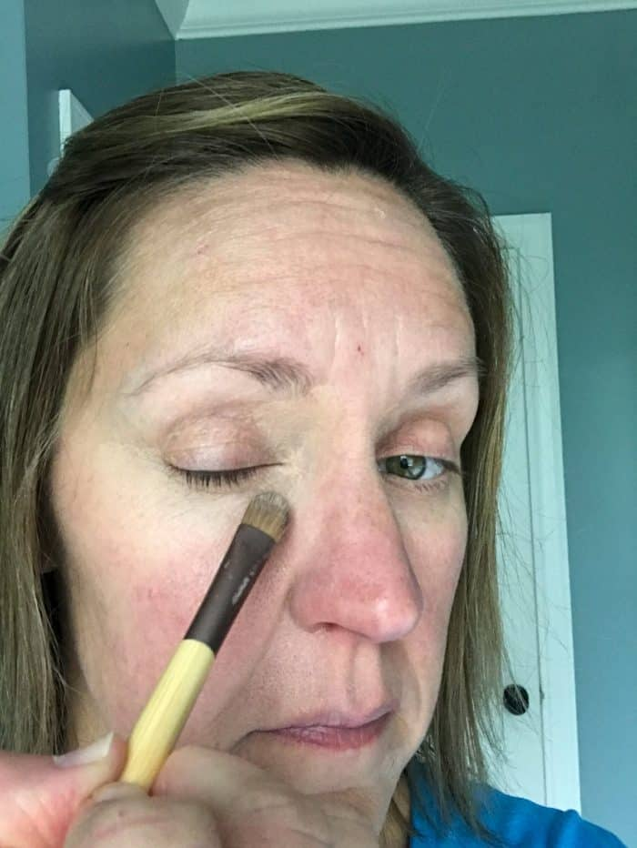 Applying LimeLight Concealer #3