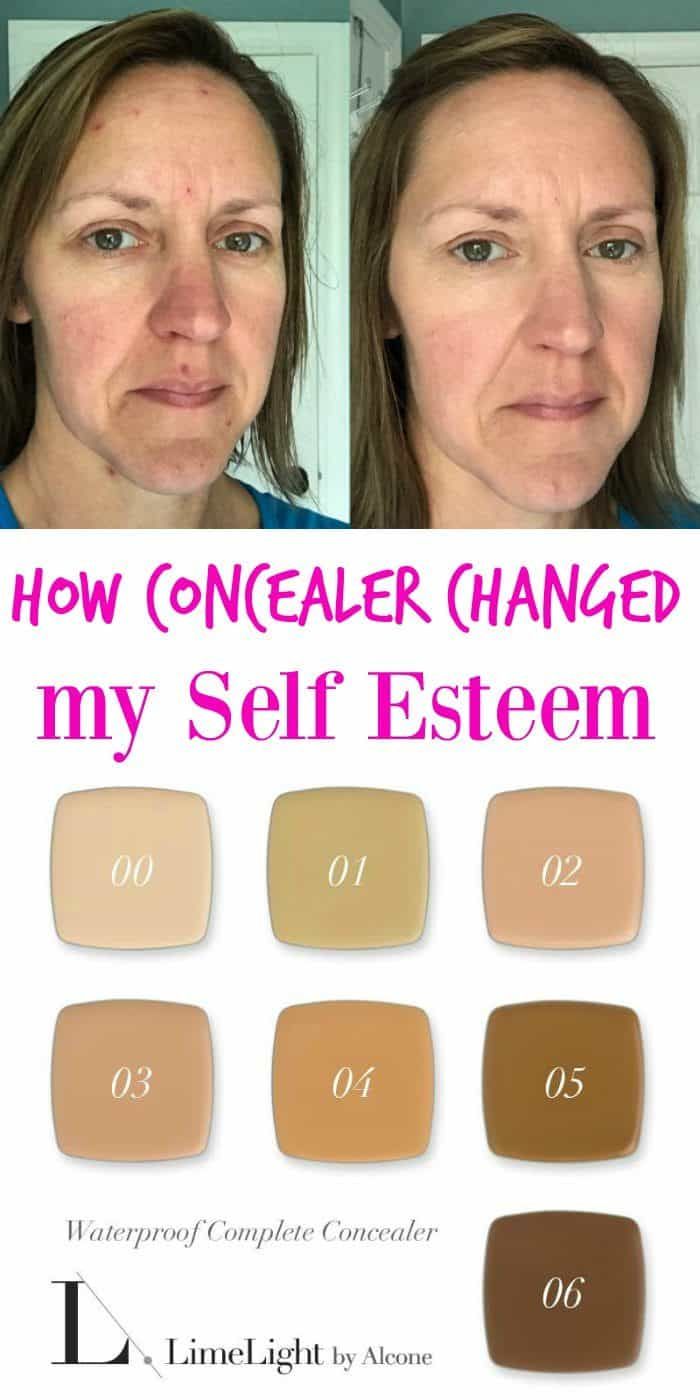 LimeLight by Alcone Concealer and a Self Esteem Boost