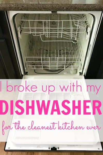 How to have a clean kitchen 99% of the time