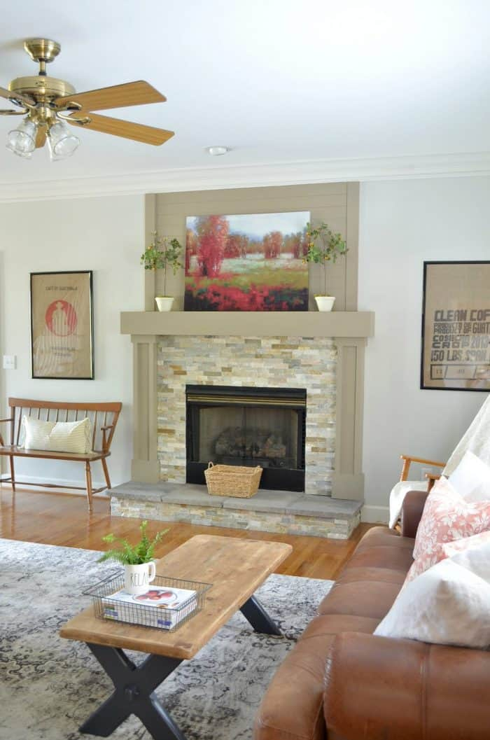 Simple Summer Decorating Ideas for the living room