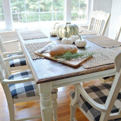 Fall Seasonal Simplicity Home Tour