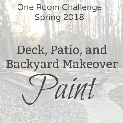 One Room Challenge 2018 Spring Week 4