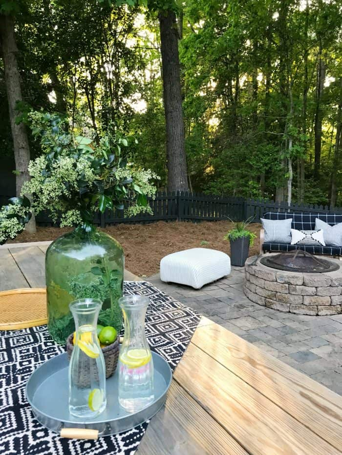 Backyard Patio Makeover One Room Challenge
