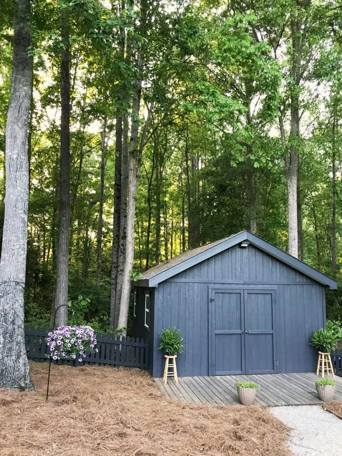 ORC Backyard Makeover Shed