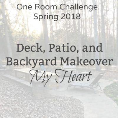 One Room Challenge Spring 2018 Week 5