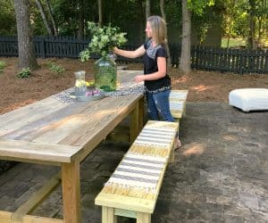 One Room Challenge Sonya Barker Backyard Makeover