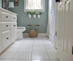 Cleaning tile floors the easiest way I've found!