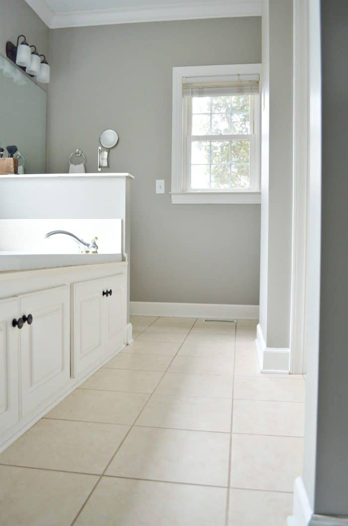 Simple cleaning habit to keeping tile floors looking great.