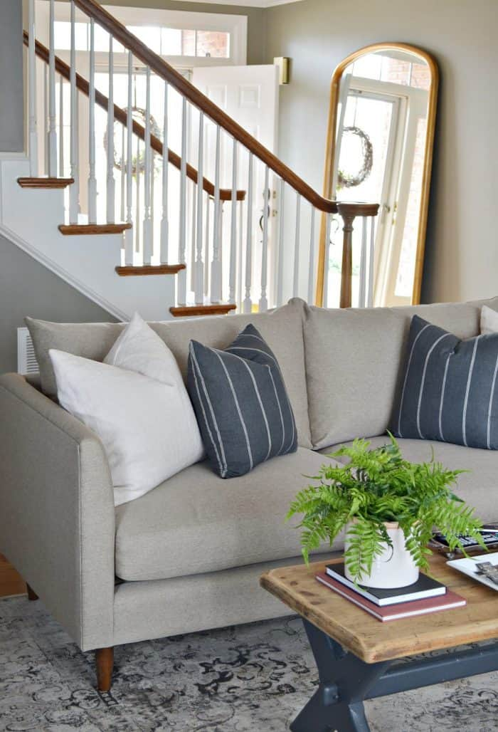 Living Room Makeover with Bassett Furniture