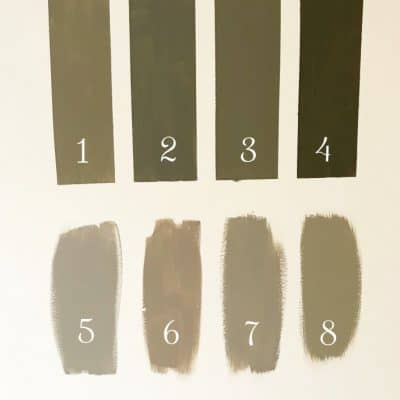 Find out all of the colors I sampled for my perfectly cozy living room. Click over to read.