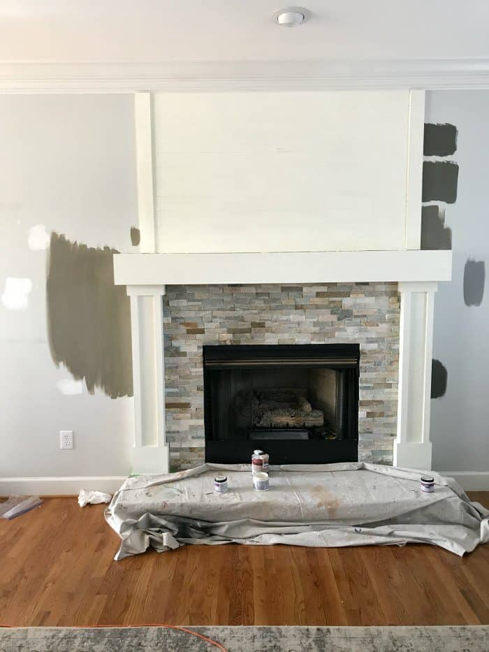 How to sample paint colors to find the right shade for a room.