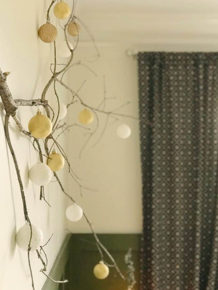 DIY Branch Project for Christmas