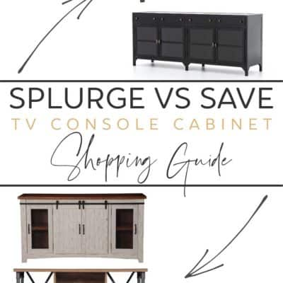 TV Console Cabinet Shopping Guide