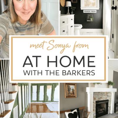 DIY blogger Sonya Barker