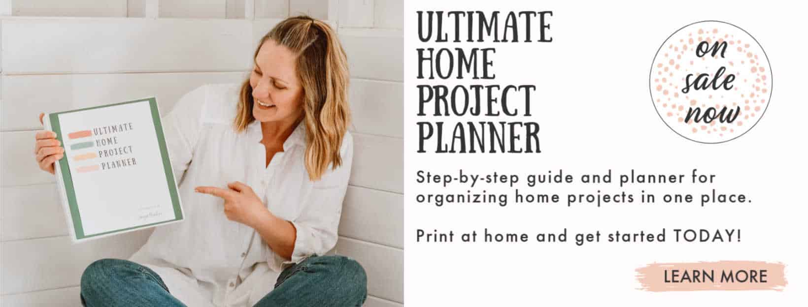At Home With The Barkers - Ultimate Home Project Planner