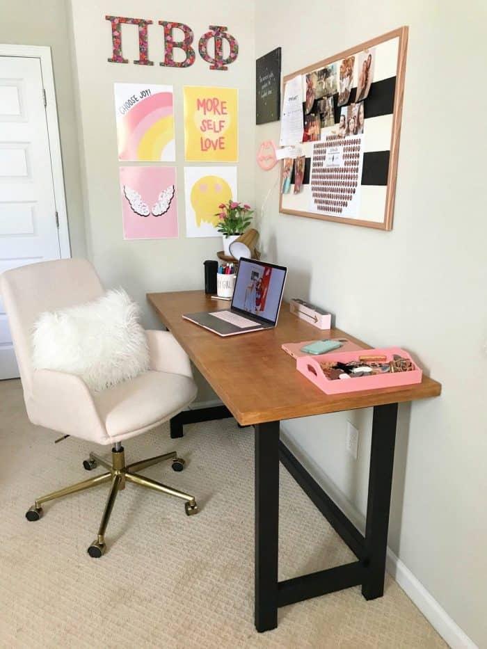 DIY study desk build