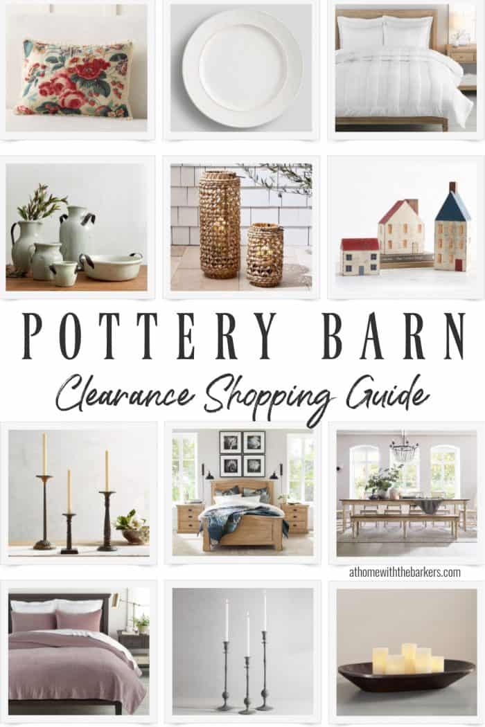 Pottery Barn Clearance Shopping Guide