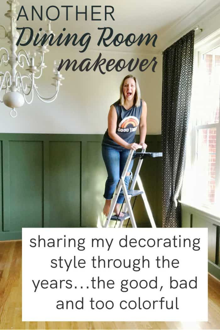 another dining room makeover