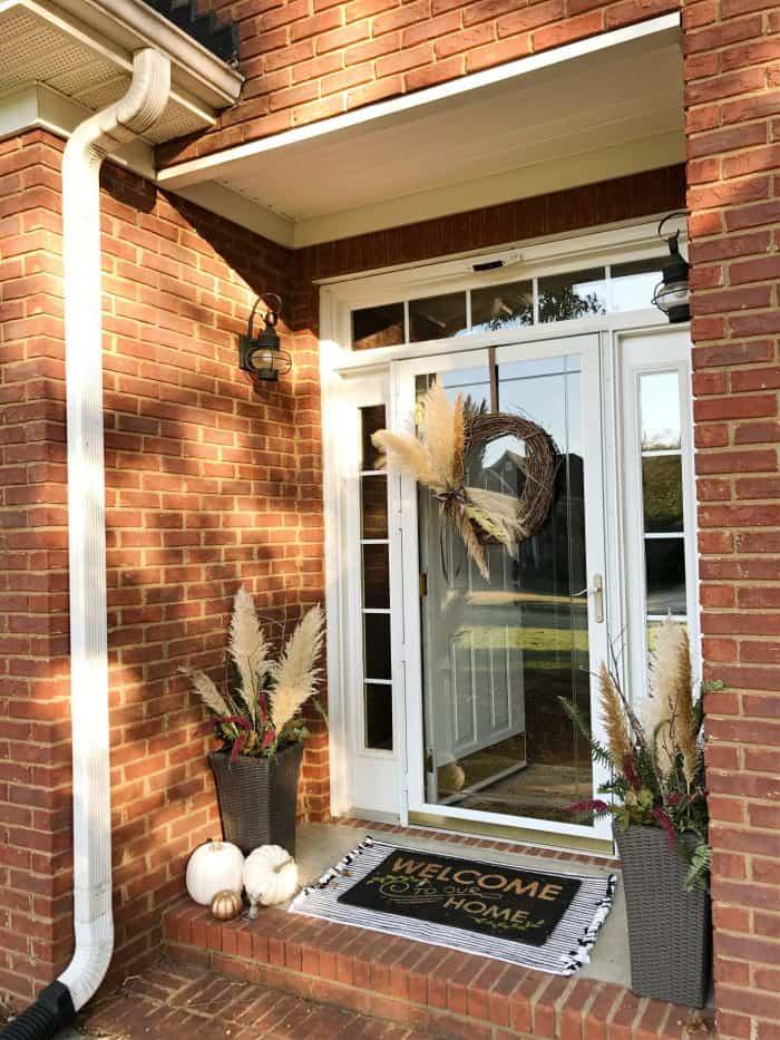 DIY Fall Front Porch decor