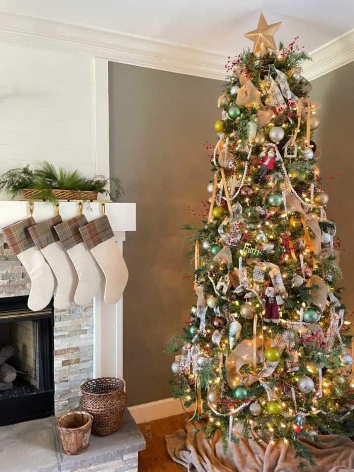 Christmas tree decor 2020