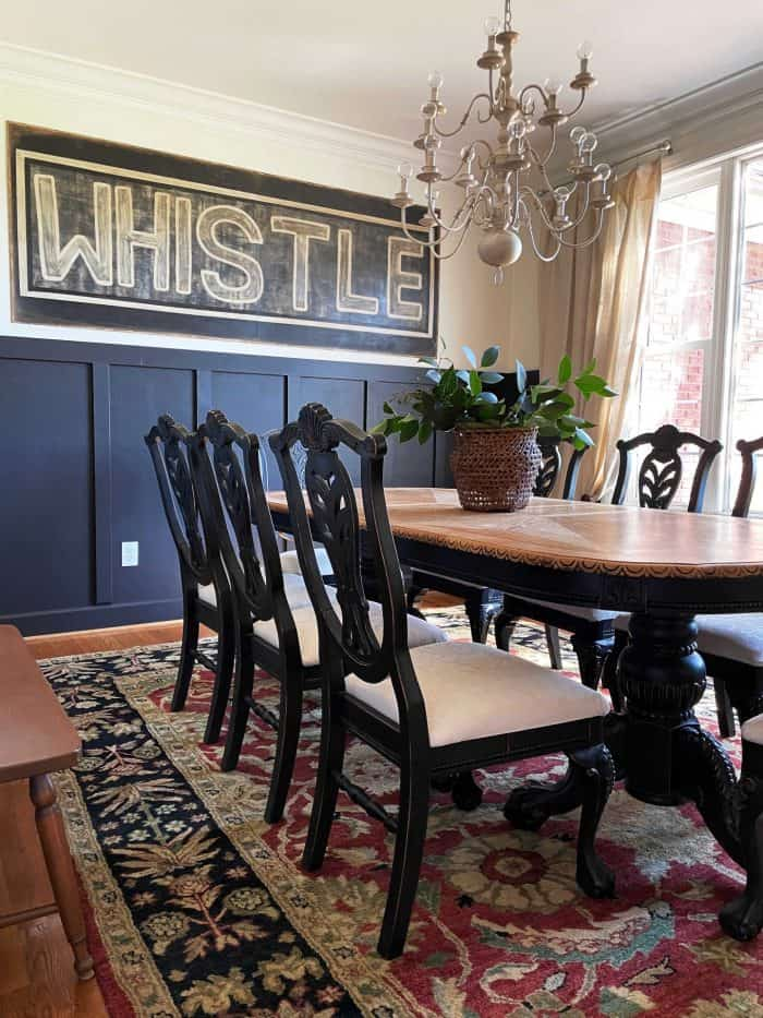 whistle diy vintage wood sign