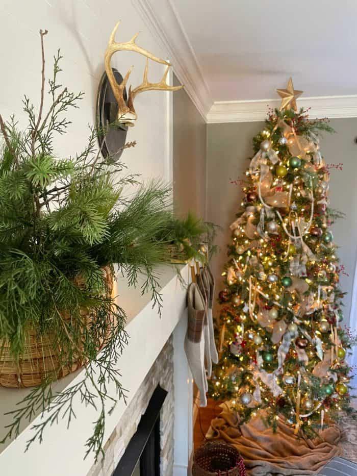 Mantel Christmas 2020
