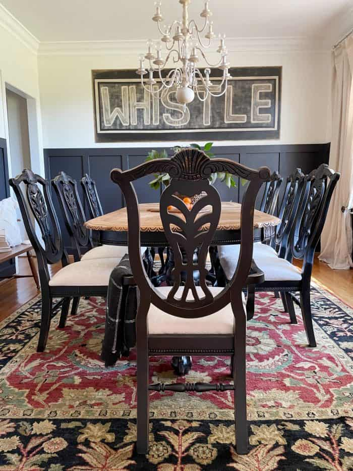 dining room decorating styles rustic traditional