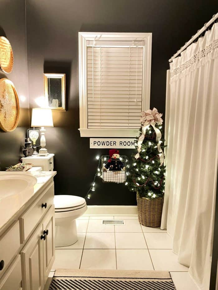 Christmas Nights Tour 2020 bathroom
