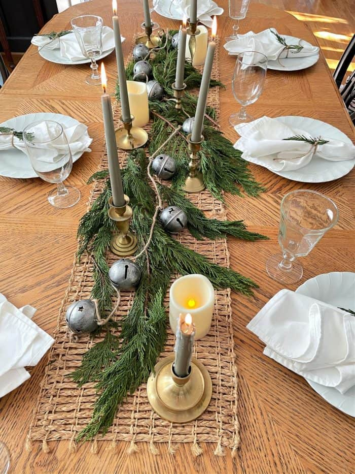 Cozy Casual Dining Table Centerpiece