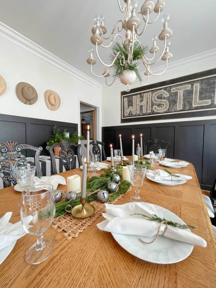 Dining Room Casual table setting