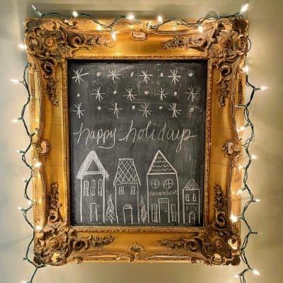 Christmas Nights Tour 2020 framed art