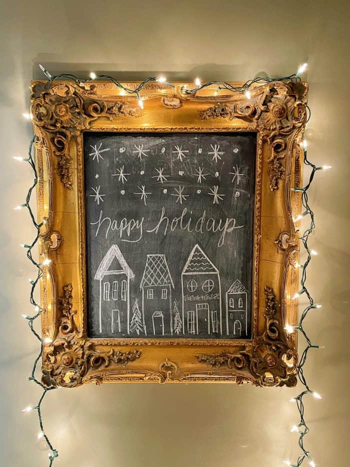 Christmas Nights Tour 2020 framed art