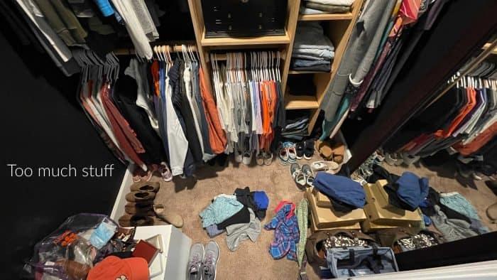 Declutter your closet