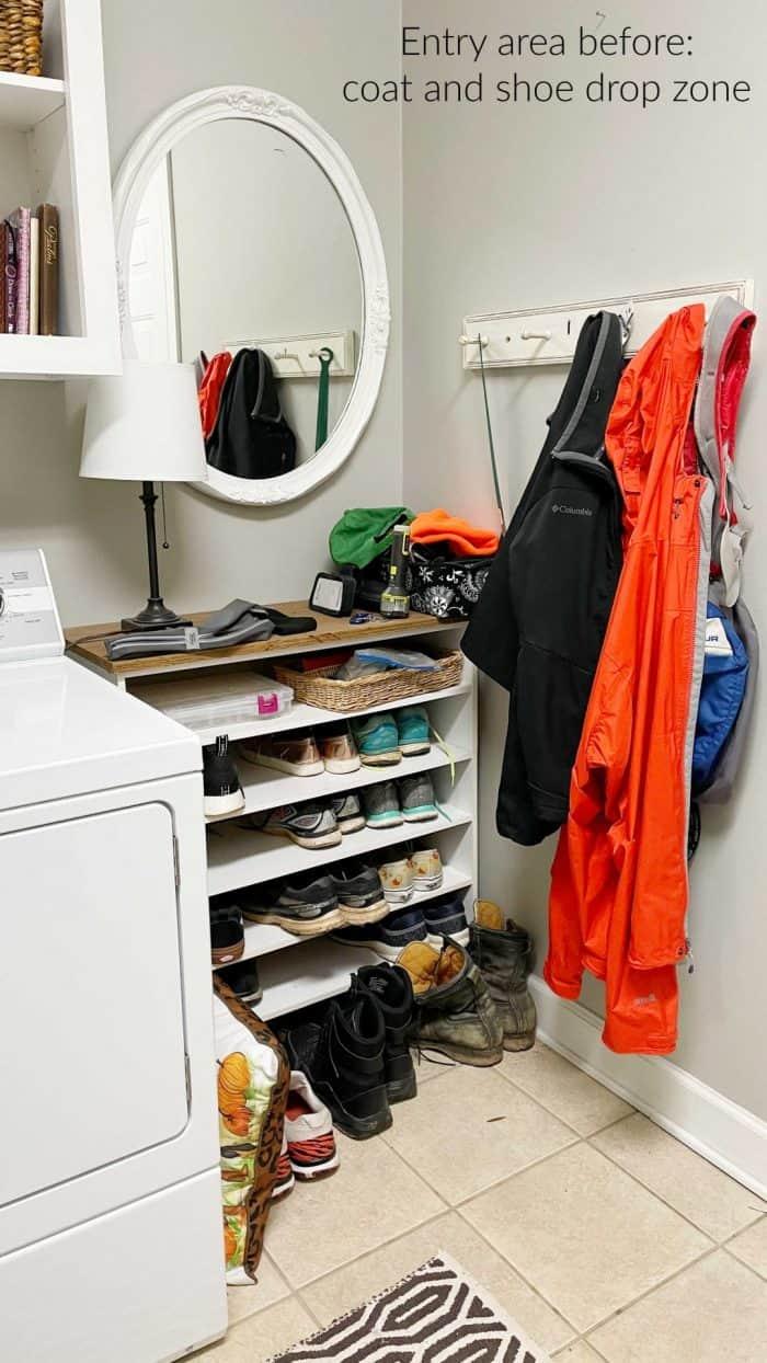 Declutter your coat closet