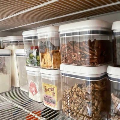 clear pantry containers