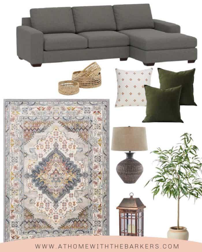 dark couch decorating ideas