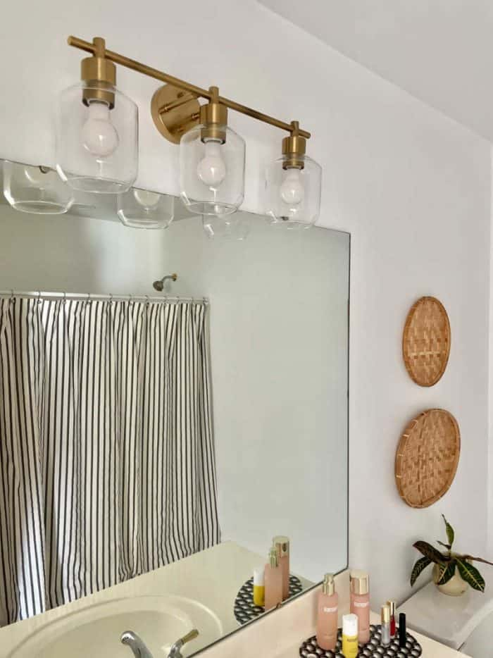 Bathroom Light Fixture Brass