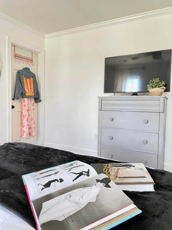 White Bedroom makeover young adult female