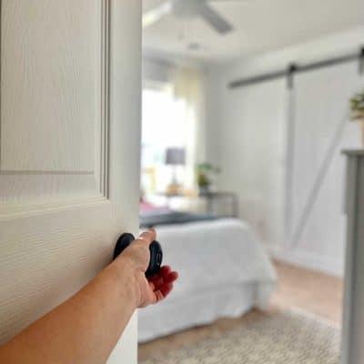 Bedroom full Makeover white paint