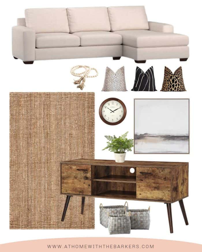 Light colored sofa and room makeover ideas with neutrals