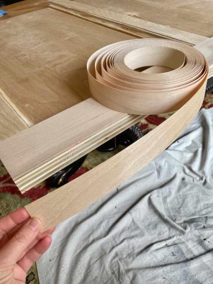 Wood-veneer-headboard