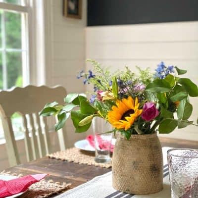 DIY Pottery Flower vase