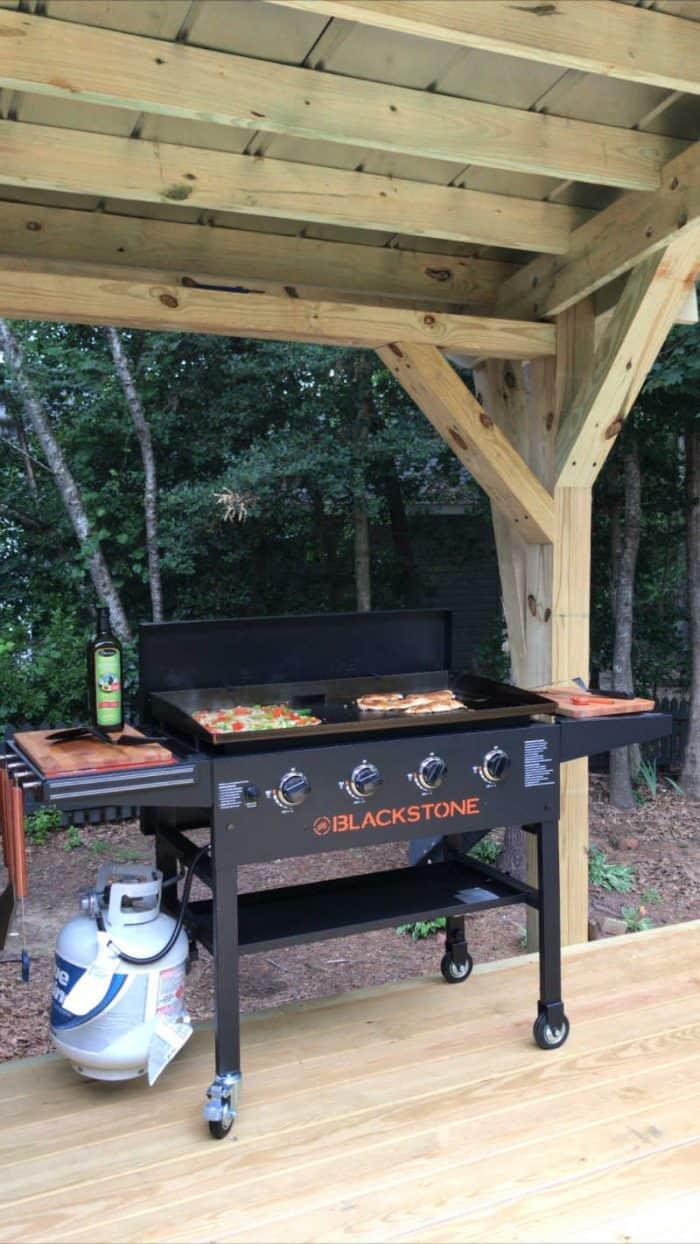 DIY Outdoor Kitchen Blackstone